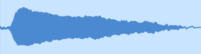 ノーマル奏法の波形