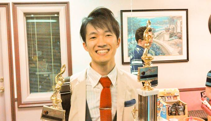 奥野靖典(Masters of Musical Whistling 2015優勝)